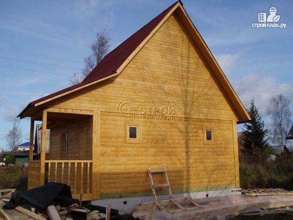 Фото 11: проект загородный дом 6х6 мс мансардой