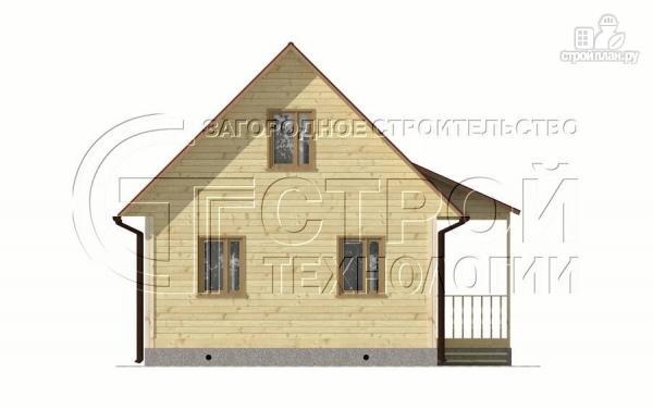 Фото 10: проект загородный дом 6х6 мс мансардой