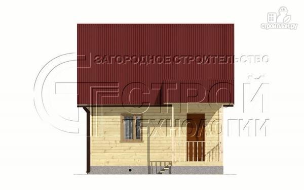 Фото 7: проект загородный дом 6х6 мс мансардой