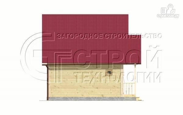 Фото 11: проект загородный дом 6х6 мс террасой и мансардой