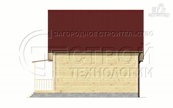 Фото 9: проект загородный дом 6х7 мс верандой 21 м2 и крыльцом