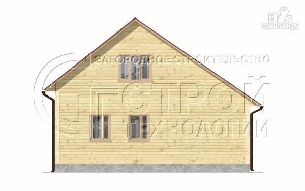 Фото 10: проект загородный дом 6х7 мс верандой 21 м2 и крыльцом