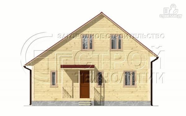 Фото 8: проект загородный дом 6х7 мс верандой 21 м2 и крыльцом