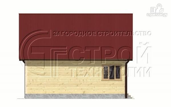 Фото 10: проект дом 6х8 мс террасойимансардой