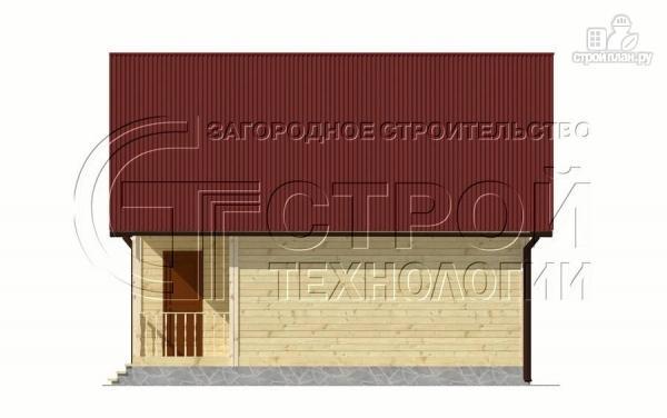 Фото 8: проект дом 6х8 мс террасойимансардой