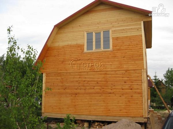 Фото 12: проект дачный дом 6x6