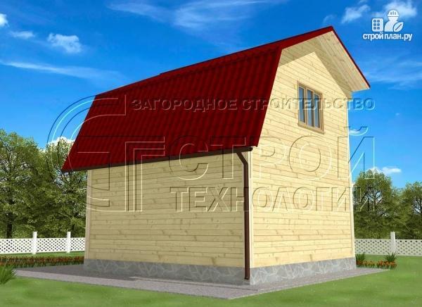 Фото 3: проект дачный дом 6x6