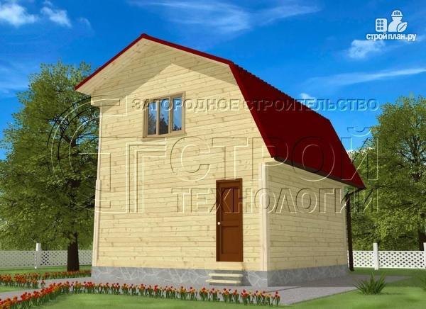 Фото 2: проект дачный дом 6x6