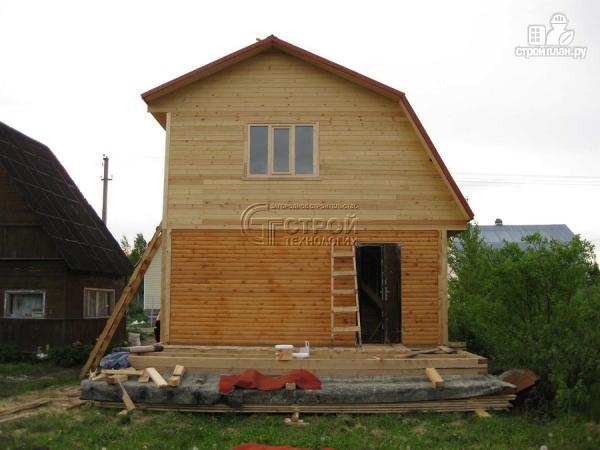 Фото 14: проект дачный дом 6x6
