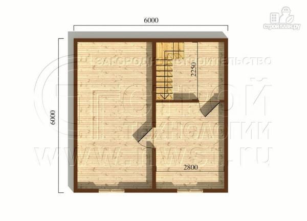 Фото 5: проект дачный дом 6x6