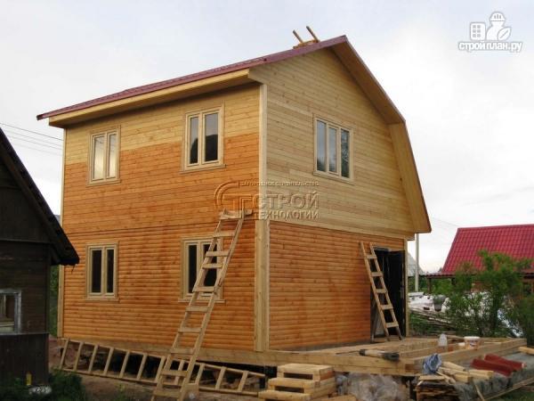 Фото 11: проект дачный дом 6x6