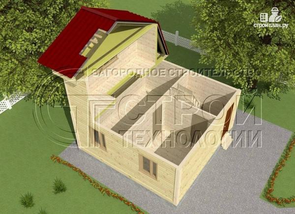Фото 4: проект дачный дом 6x6