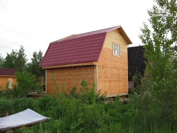 Фото 13: проект дачный дом 6x6