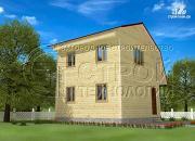 Проект дачный дом 6x6
