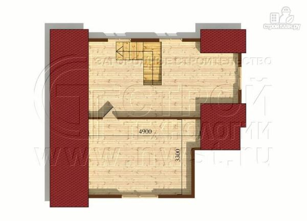 Фото 6: проект коттедж 7x8 мс мансардным этажом