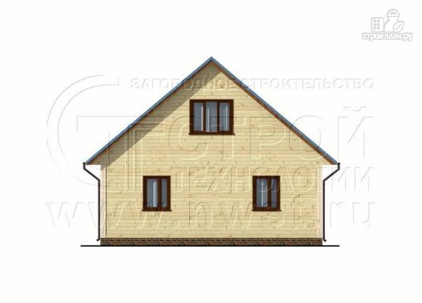 Фото 9: проект загородный дом 8x10 м с террасой и мансардой