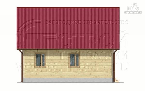 Фото 8: проект загородный дом 8x6 мс мансардойи лоджией