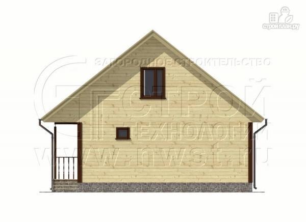 Фото 9: проект дачный дом 7x9 мс мансардой и террасой 16,5 м2
