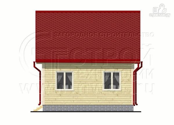 Фото 9: проект дачный дом 6х6 мс мансардой и верандой