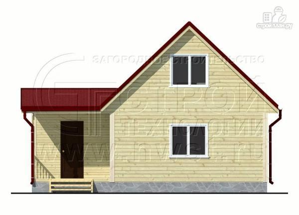 Фото 10: проект дом 6х6 м с мансардой, верандой 9 м2и террасой 9 м2