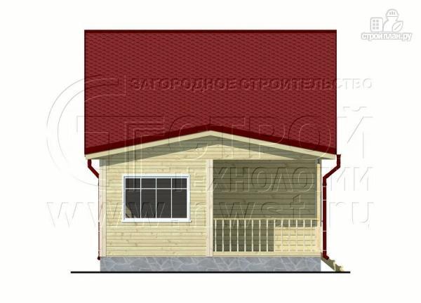 Фото 9: проект дом 6х6 м с мансардой, верандой 9 м2и террасой 9 м2