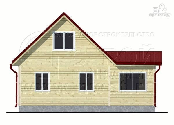 Фото 7: проект дом 6х6 м с мансардой, верандой 9 м2и террасой 9 м2