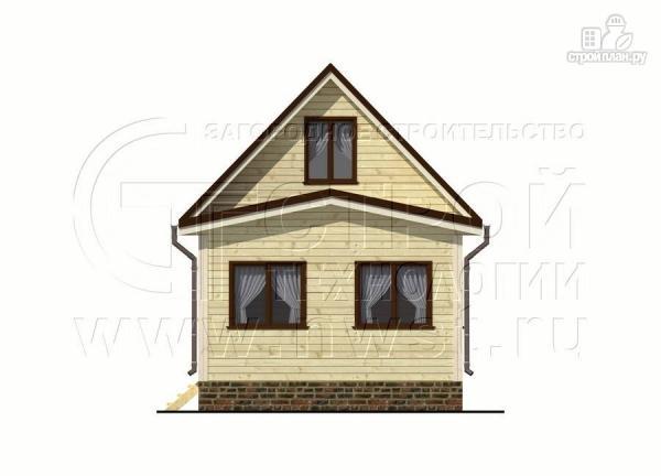 Фото 9: проект дом 5х6 м с верандой 10 м2