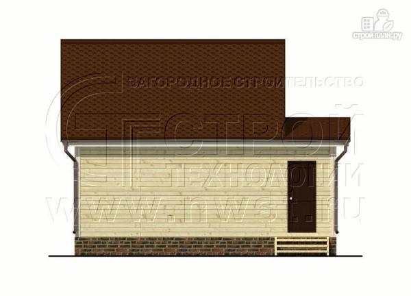 Фото 10: проект дом 5х6 м с верандой 10 м2