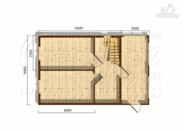 Фото 5: проект дом 5х6 м с верандой 10 м2