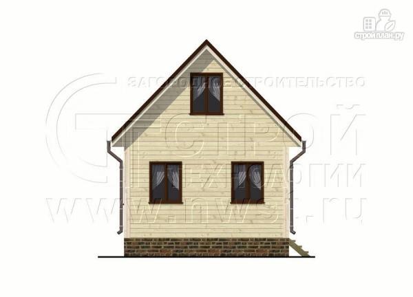 Фото 7: проект дом 5х6 м с верандой 10 м2