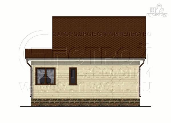 Фото 8: проект дом 5х6 м с верандой 10 м2