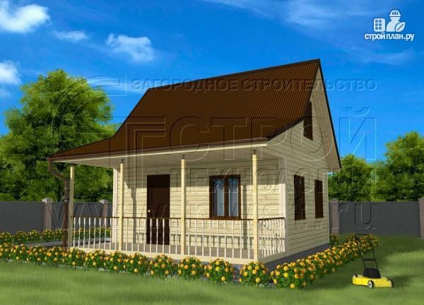 Небольшие дома с мансардой своими руками 69