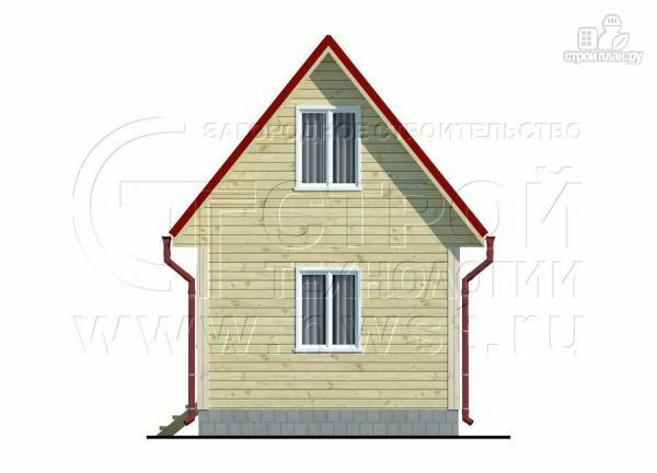 Фото 10: проект небольшой дачный домик 4x5 мсмансардой