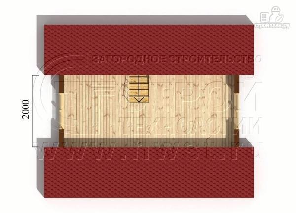 Фото 6: проект небольшой дачный домик 4x5 мсмансардой