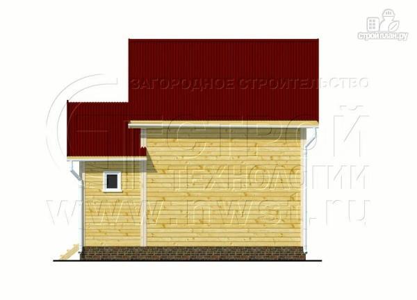 Фото 9: проект дачный дом 4х5 м из бруса