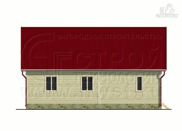 Фото 8: проект дачный дом 6х6 м с мансардным этажоми террасой 20 м2