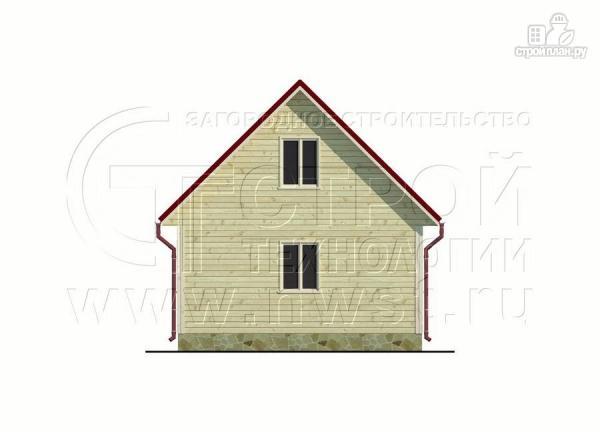Фото 9: проект дачный дом 6х6 м с мансардным этажоми террасой 20 м2
