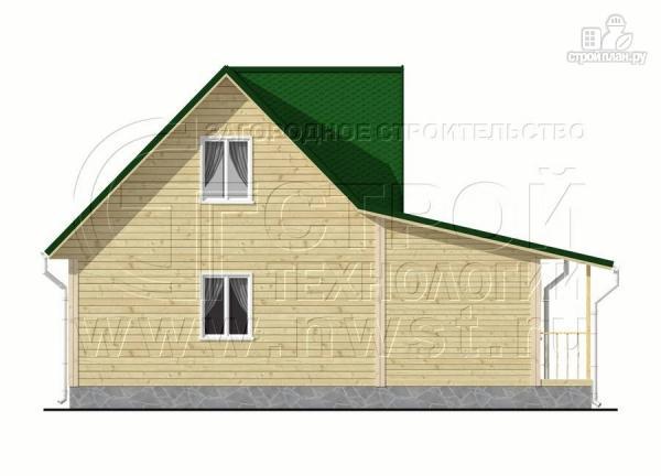 Фото 8: проект дачный дом 6х9 м из бруса