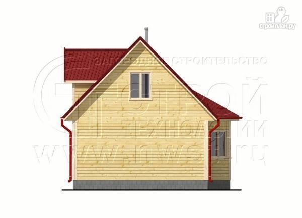 Фото 8: проект дачный дом 6х6 м с мансардой, эркером и двумя «фонарями»