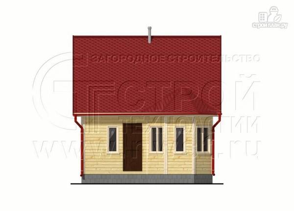 Фото 7: проект дачный дом 6х6 м с мансардой, эркером и двумя «фонарями»