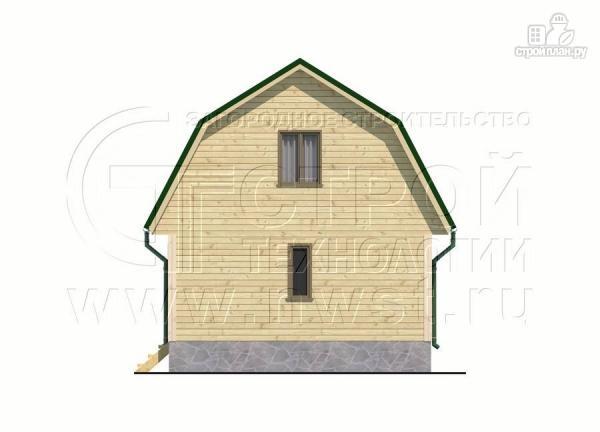 Фото 7: проект дачный дом 6х6 м из бруса