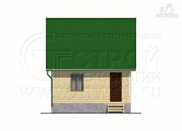 Фото 9: проект дачный дом 6х6 м из бруса
