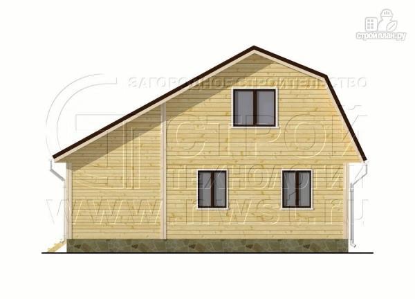 Фото 9: проект дачный дом 6х6 м с верандой