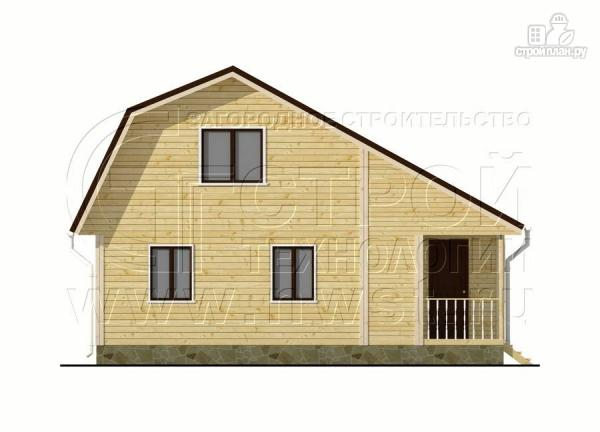Фото 7: проект дачный дом 6х6 м с верандой