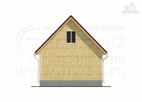 Фото 10: проект дачный дом 6х7 м с верандой и балконом