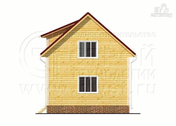 Фото 10: проект дом 6х7 м полтора этажа с балконом
