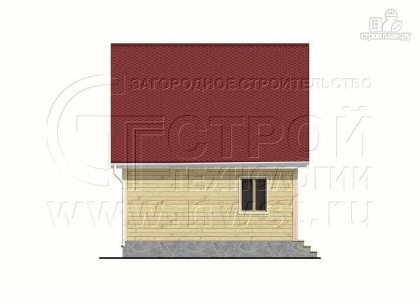 Фото 9: проект дачный дом 6х8 м с крыльцом