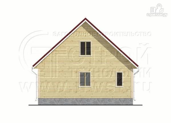 Фото 8: проект дачный дом 6х8 м с крыльцом