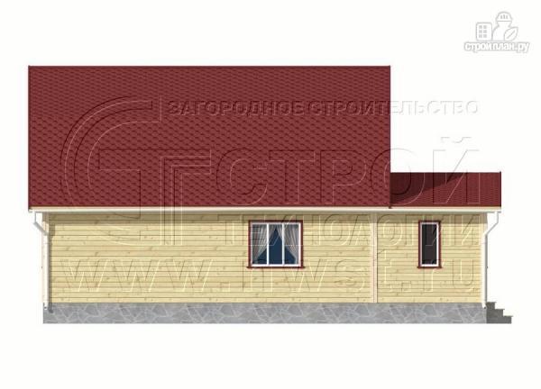 Фото 10: проект дачный дом 6х9 м из бруса