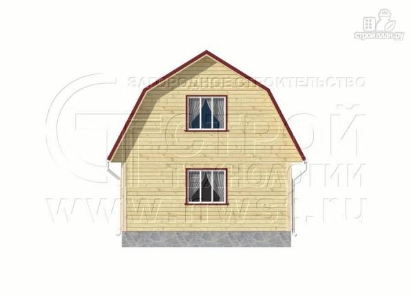 Фото 9: проект дачный дом 6х9 м из бруса